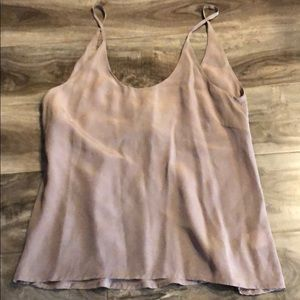 Olivaceous tank top size small